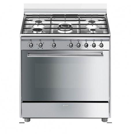 Cocina a gas de 90cm Horno a gas ventilado