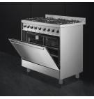 Cocina a gas de 90cm